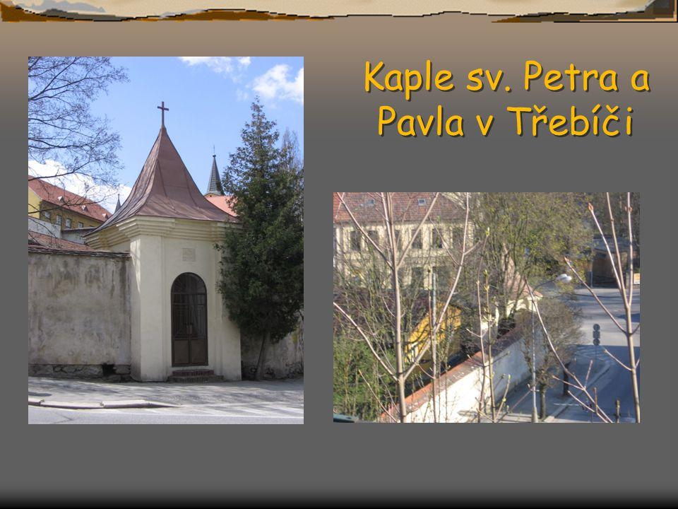 Kaple sv. Petra a Pavla v Třebíči