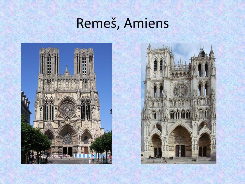 Remeš, Amiens