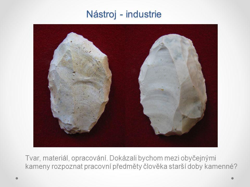 Nástroj - industrie Tvar, materiál, opracování.