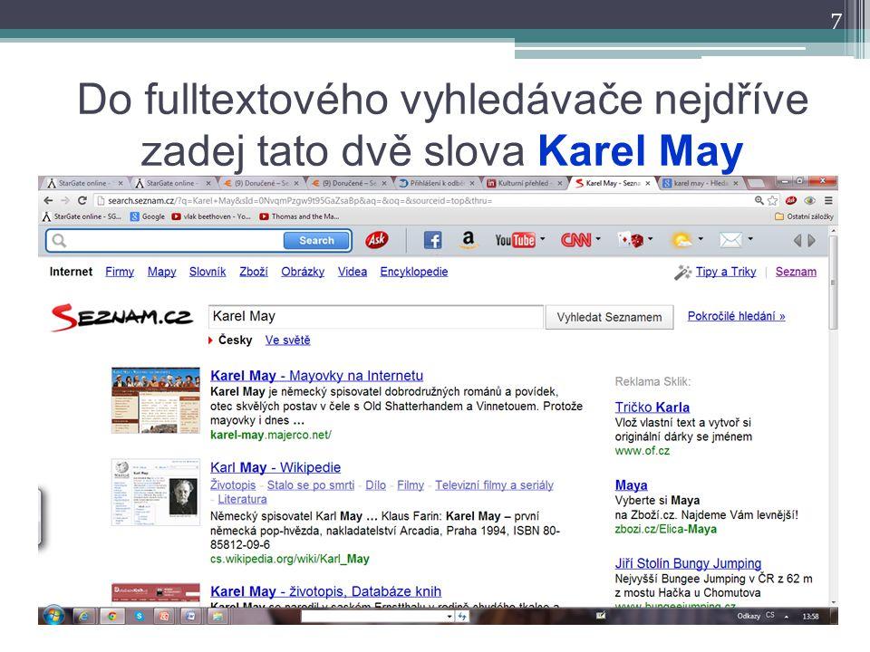 8 To samé na www.google.cz