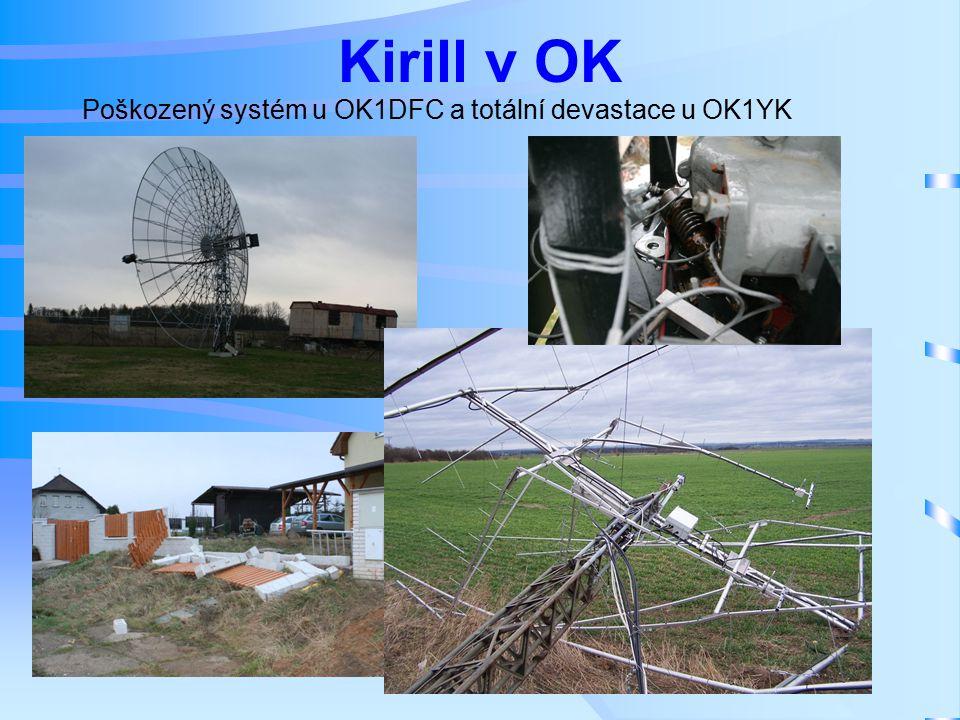Kirill v OK Poškozený systém u OK1DFC a totální devastace u OK1YK