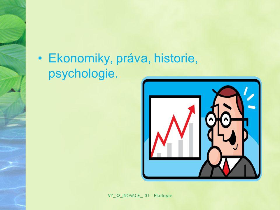Ekonomiky, práva, historie, psychologie. VY_32_INOVACE_ 01 - Ekologie