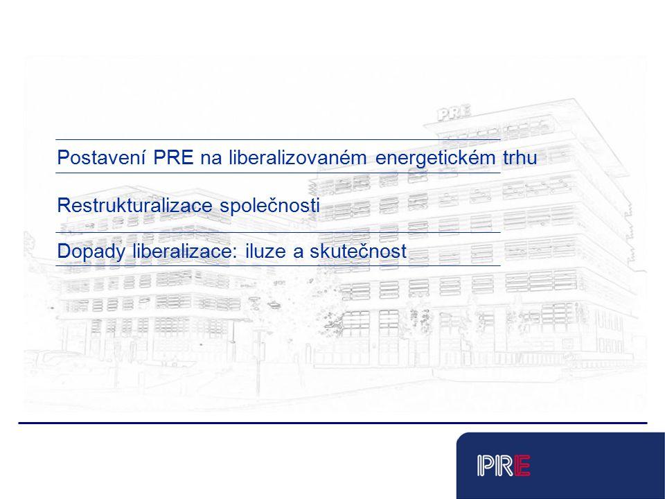 Tobias Schnadt Postavení PRE na liberalizovaném energetickém trhu Dopady liberalizace: iluze a skutečnost Restrukturalizace společnosti