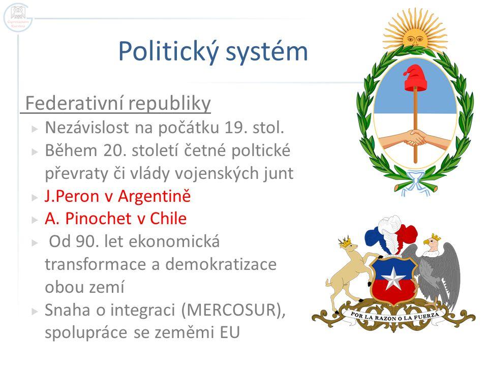 Politický systém Federativní republiky  Nezávislost na počátku 19.