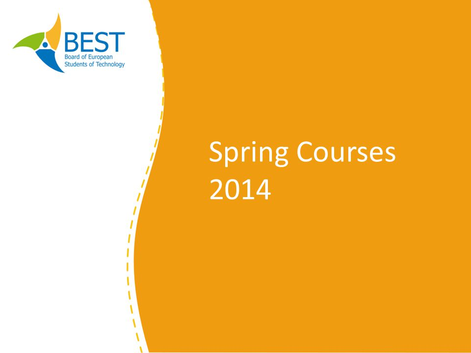 Spring Courses 2014