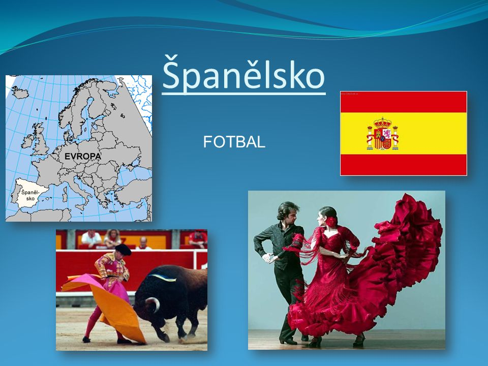 Španělsko FOTBAL