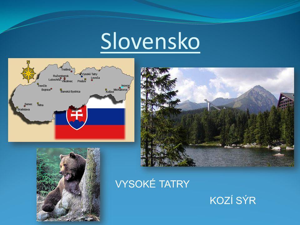 Slovensko VYSOKÉ TATRY KOZÍ SÝR