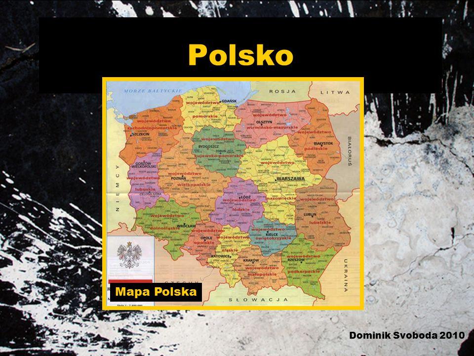 Polsko Mapa Polska Dominik Svoboda 2010