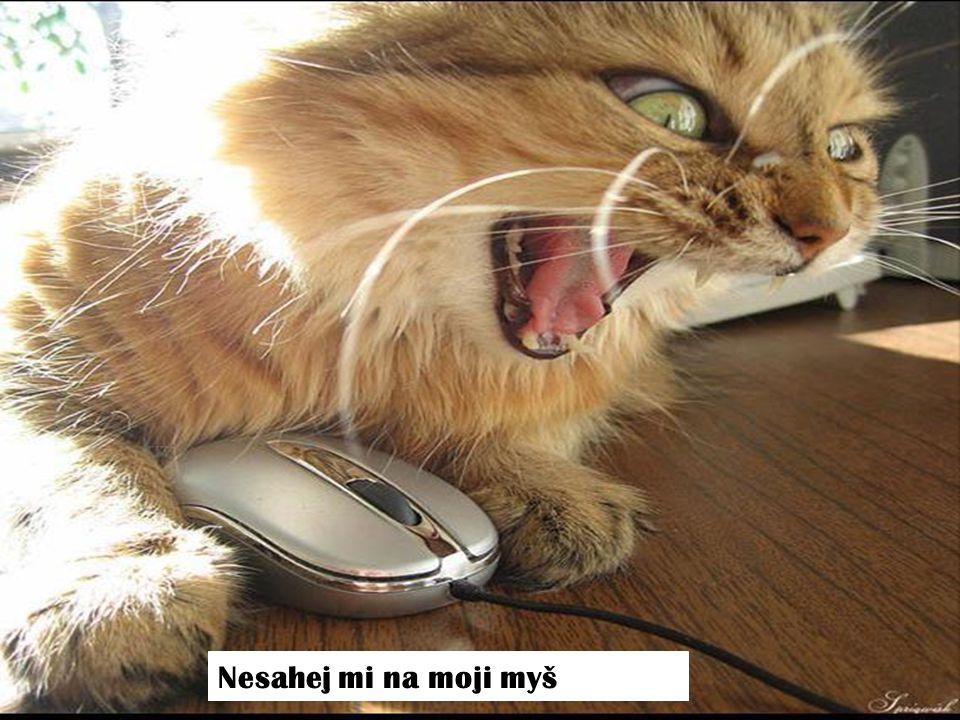 Nesahej mi na moji myš