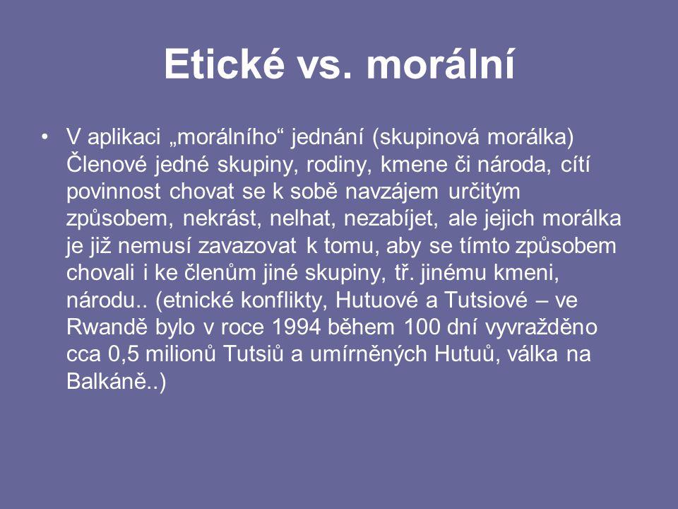 Etické vs.