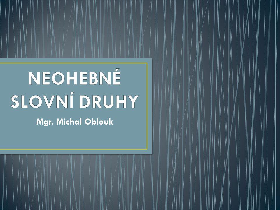 Mgr. Michal Oblouk
