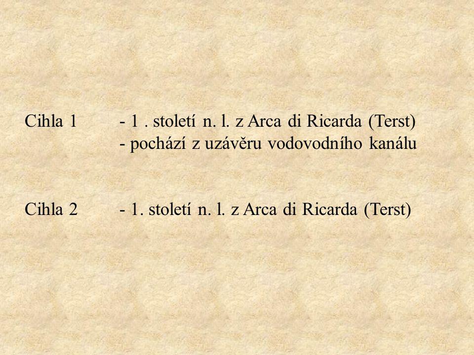 Cihla 1- 1. století n. l.