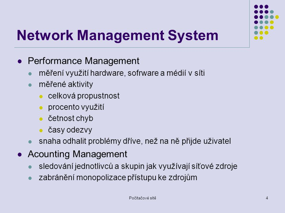 Počítačové sítě15 MIB system ( 1 ) interfaces ( 2 ) at ( 3 ) ip ( 4 ) icmp ( 5 ) tcp ( 6 ) udp ( 7 ) egp ( 8 ) Základní skupiny MIB II transmission ( 9 )transmission ( 9 ) snmp ( 10 )snmp ( 10 ) system ( 1 )system ( 1 ) interfaces ( 2 )interfaces ( 2 ) at ( 3 )at ( 3 ) ip ( 4 )ip ( 4 ) icmp ( 5 )icmp ( 5 ) tcp ( 6 )tcp ( 6 ) udp ( 7 )udp ( 7 ) egp ( 8 )egp ( 8 ) Základní skupiny MIB I