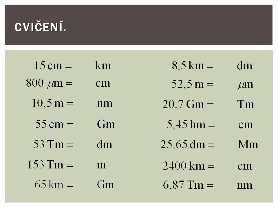  Co vyjadřují fyzikální veličiny. Na jaké kategorie dělíme zákonné jednotky.