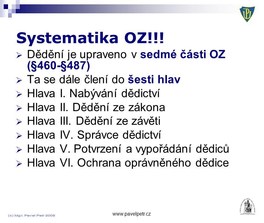 Systematika OZ!!.