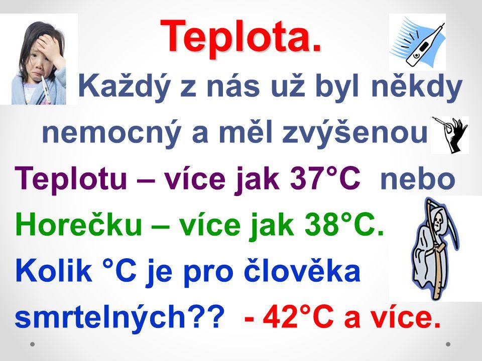 Teplota.