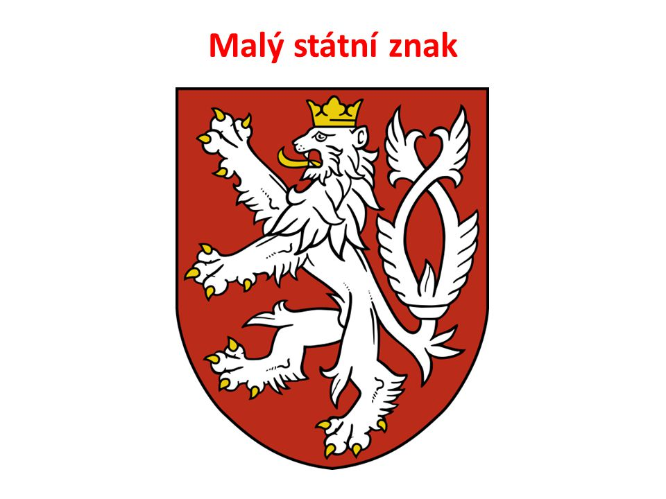 Malý státní znak