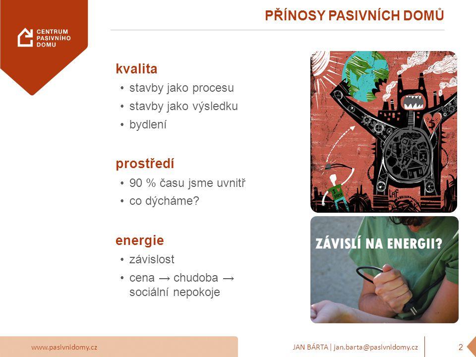 www.pasivnidomy.czJAN BÁRTA | jan.barta@pasivnidomy.cz PŘEDSUDKY – DRAHÉ 3