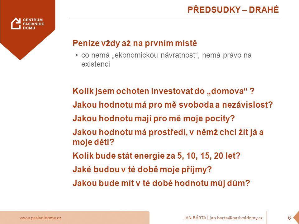 www.pasivnidomy.czJAN BÁRTA | jan.barta@pasivnidomy.cz PŘEDSUDKY – KOMPLIKOVANÉ OVLÁDÁNÍ 7 Vypnuto Minimum Standard Party