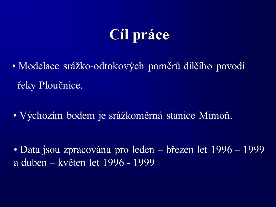 Stručný postup práce 1) Vložení DTM ČR a jeho ořezání na zájmové území.