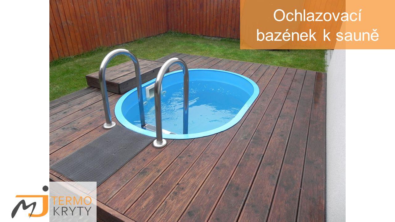 Ochlazovací bazének k sauně