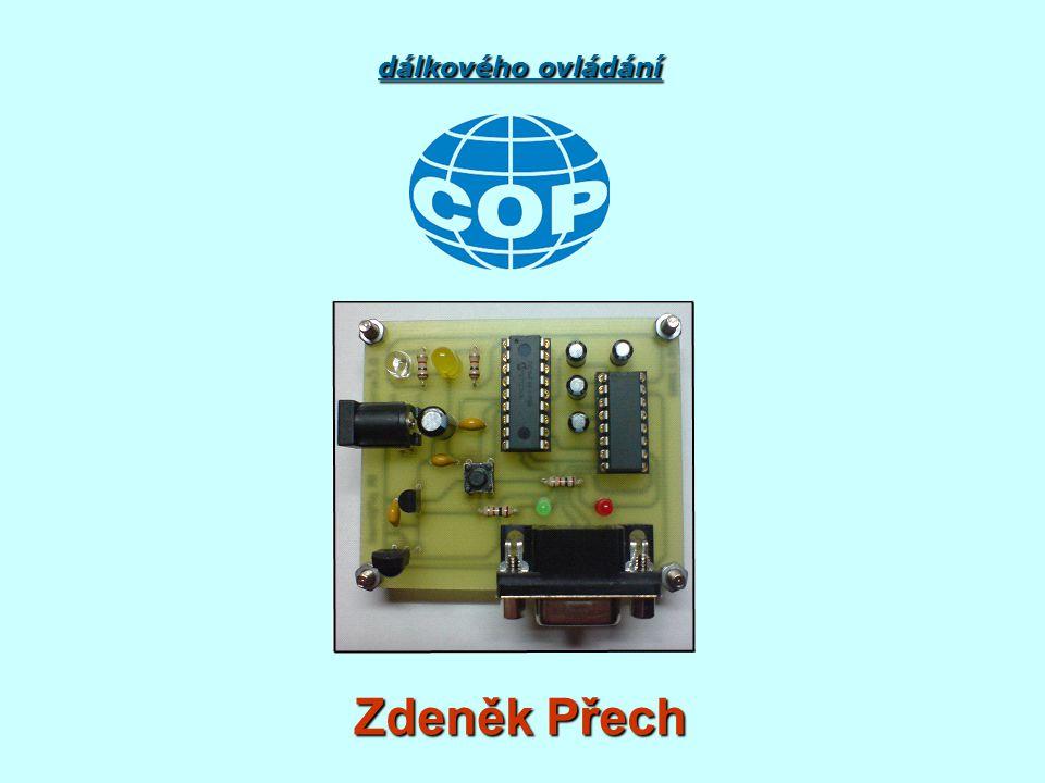 Tvorba software pro mikrokontrolér PIC v přijímači dálkového ovládání Zdeněk Přech