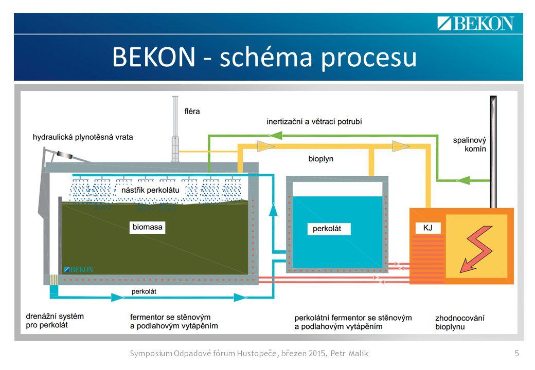BEKON - schéma procesu Symposium Odpadové fórum Hustopeče, březen 2015, Petr Malik5 Abgasspülung