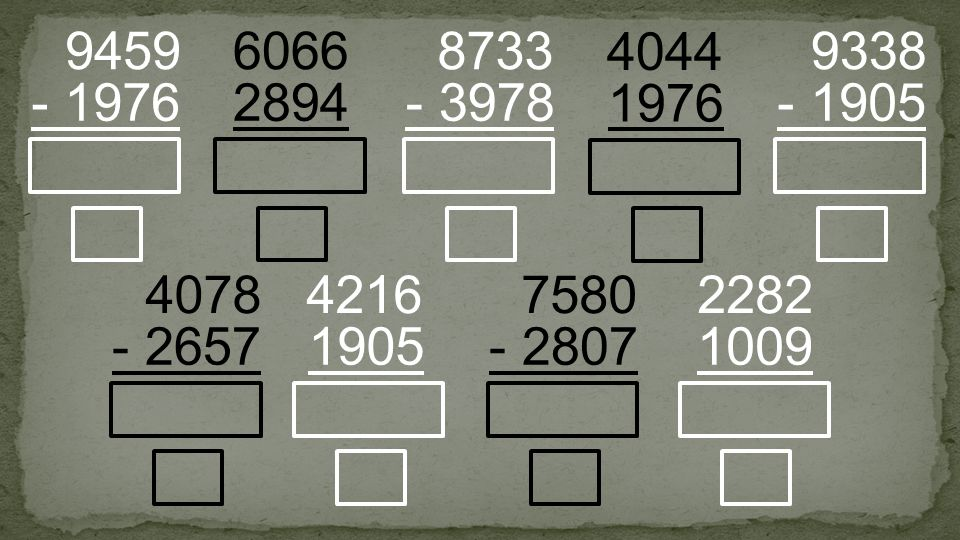 2894 6066 - 1976 9459 - 3978 8733 - 2657 4078 1009 2282 1976 4044 - 1905 9338 - 2807 7580 1905 4216