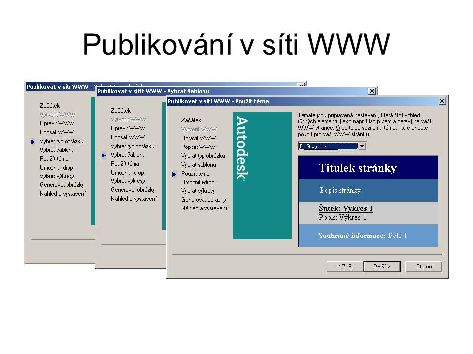 Publikování v síti WWW
