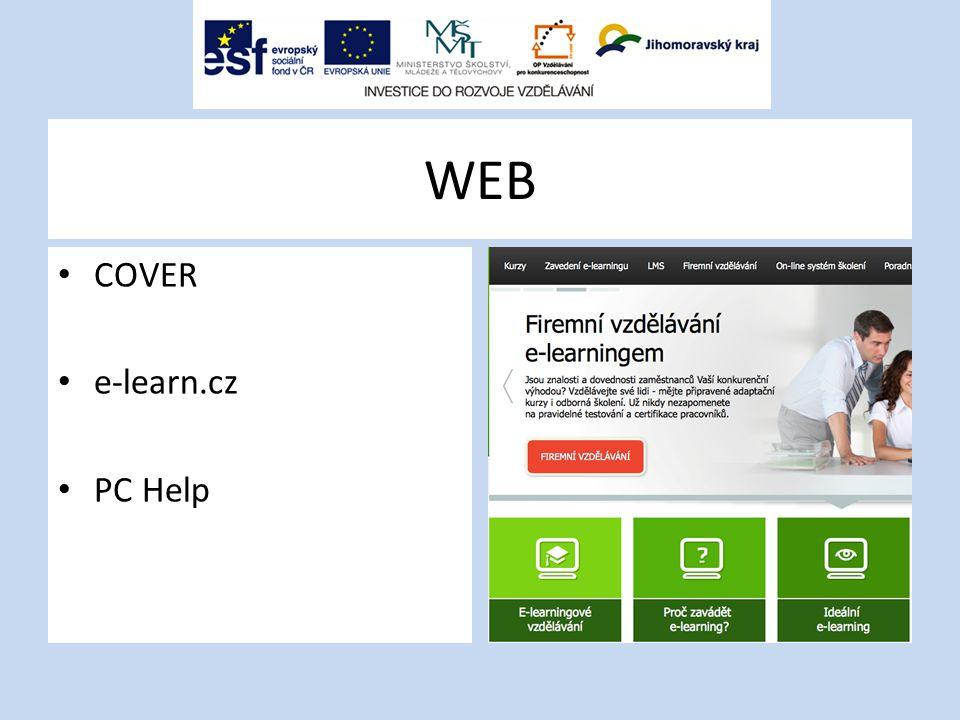 WEB COVER e-learn.cz PC Help