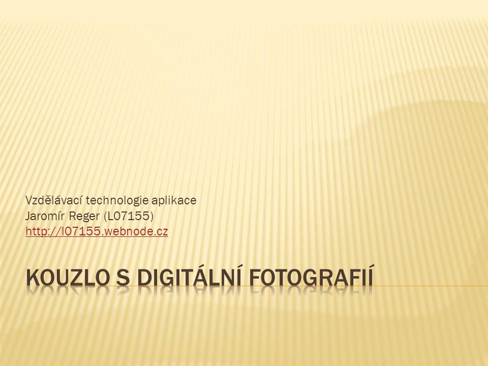 Vzdělávací technologie aplikace Jaromír Reger (L07155) http://l07155.webnode.cz