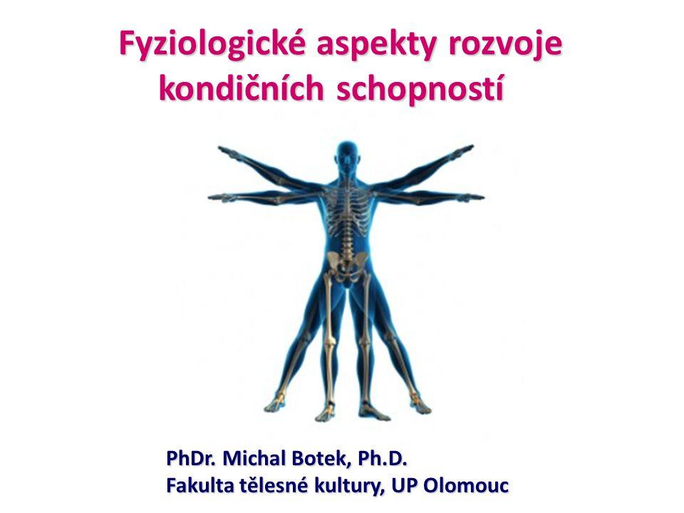 PhDr. Michal Botek, Ph.D. Fakulta tělesné kultury, UP Olomouc Fyziologické aspekty rozvoje kondičních schopností