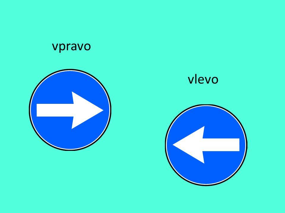 vpravo vlevo