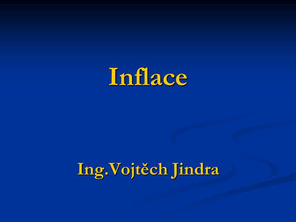 Inflace Ing.Vojtěch Jindra