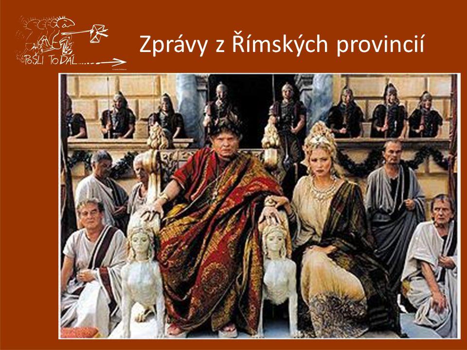 Zprávy z Římských provincií