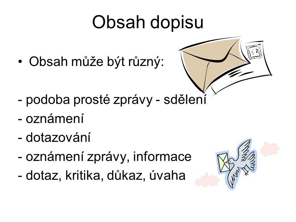 Napište na bílou obálku vzorně adresu Pan Jaroslav Novák Jabloňová ul. 587 478 01 Písek