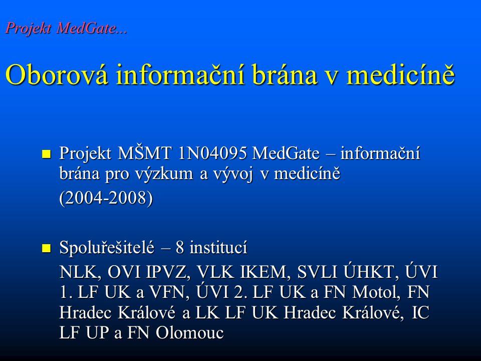 Projekt MedGate...