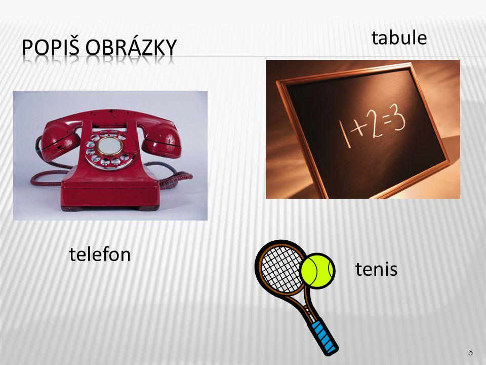 tabule 5 telefon tenis