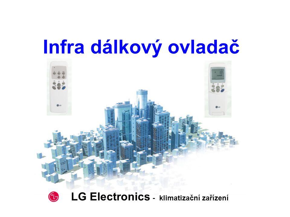 2002. 5. 2 Infra dálkový ovladač LG Electronics - klimatizační zařízení
