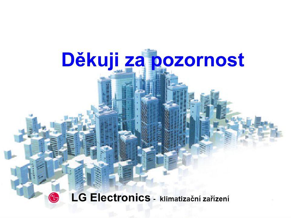 2002. 5. 2 Děkuji za pozornost LG Electronics - klimatizační zařízení
