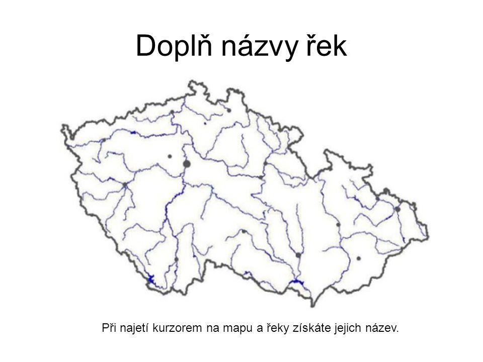 Jezera Na stojaté přírodní vody je ČR chudá: -j.