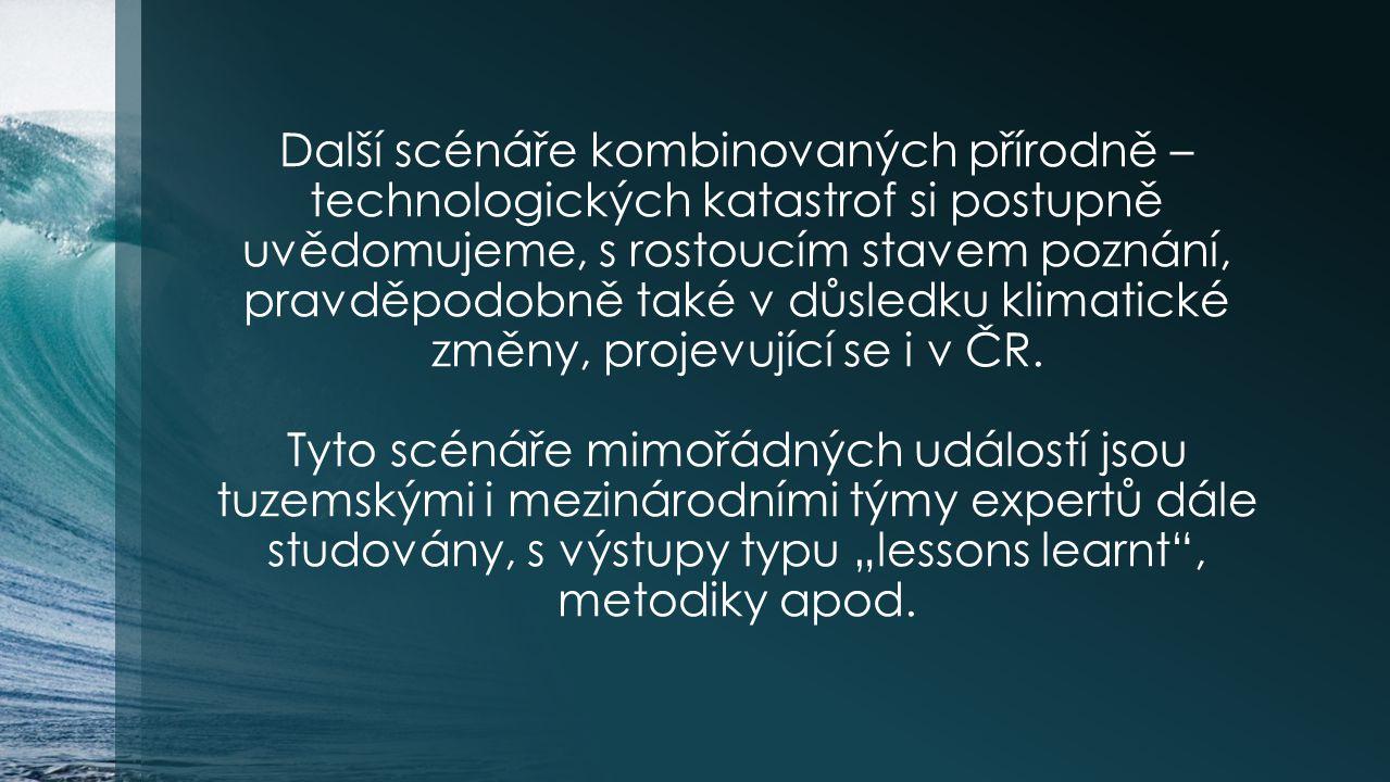 Co v této oblasti děláme v ČR.S ohledem na bezpečnost obyvatelstva i technologií.