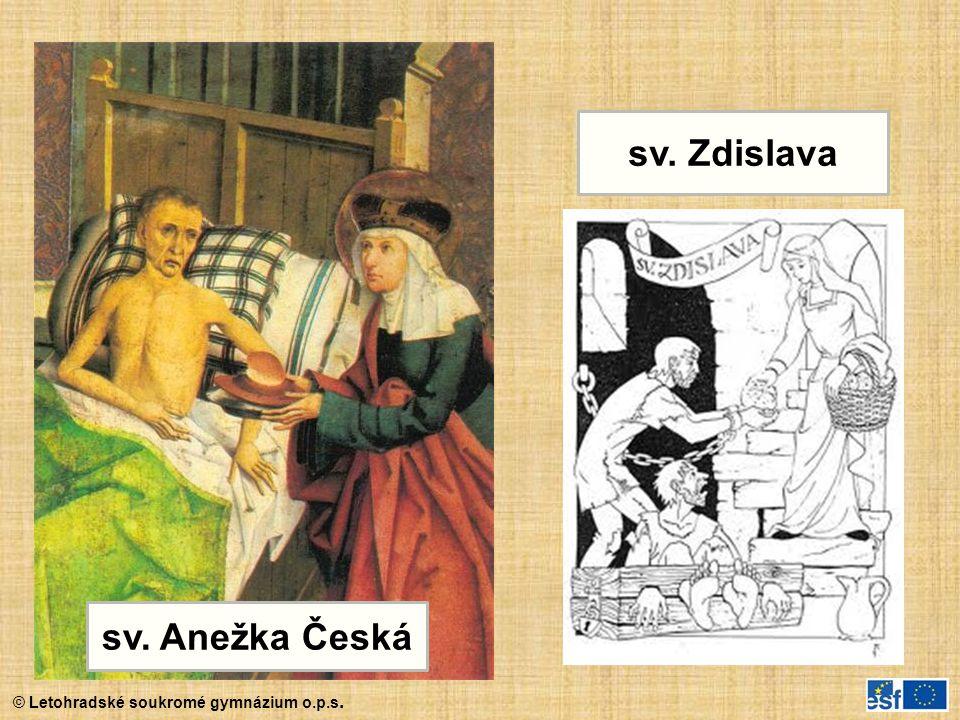 © Letohradské soukromé gymnázium o.p.s. sv. Anežka Česká sv. Zdislava