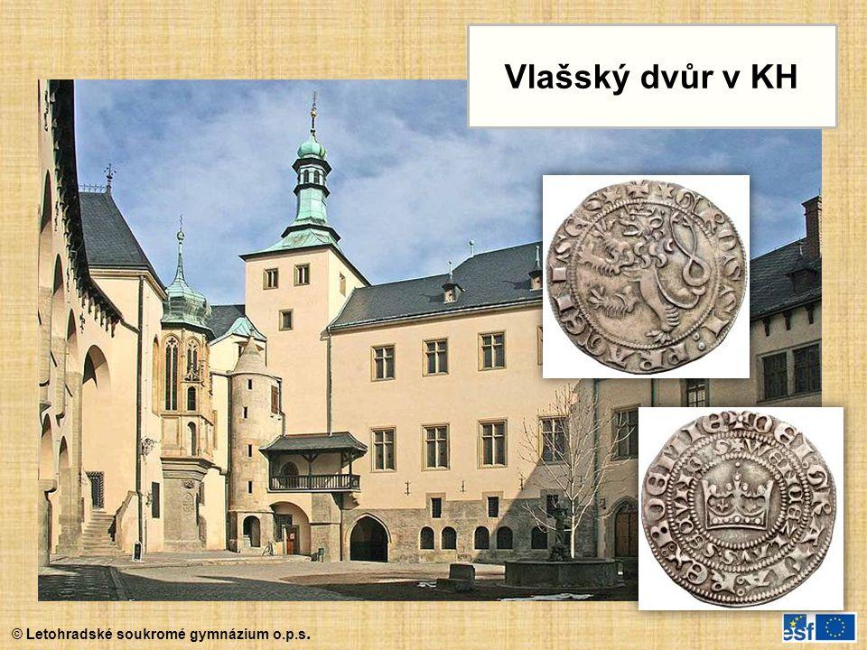 © Letohradské soukromé gymnázium o.p.s. Vlašský dvůr v KH