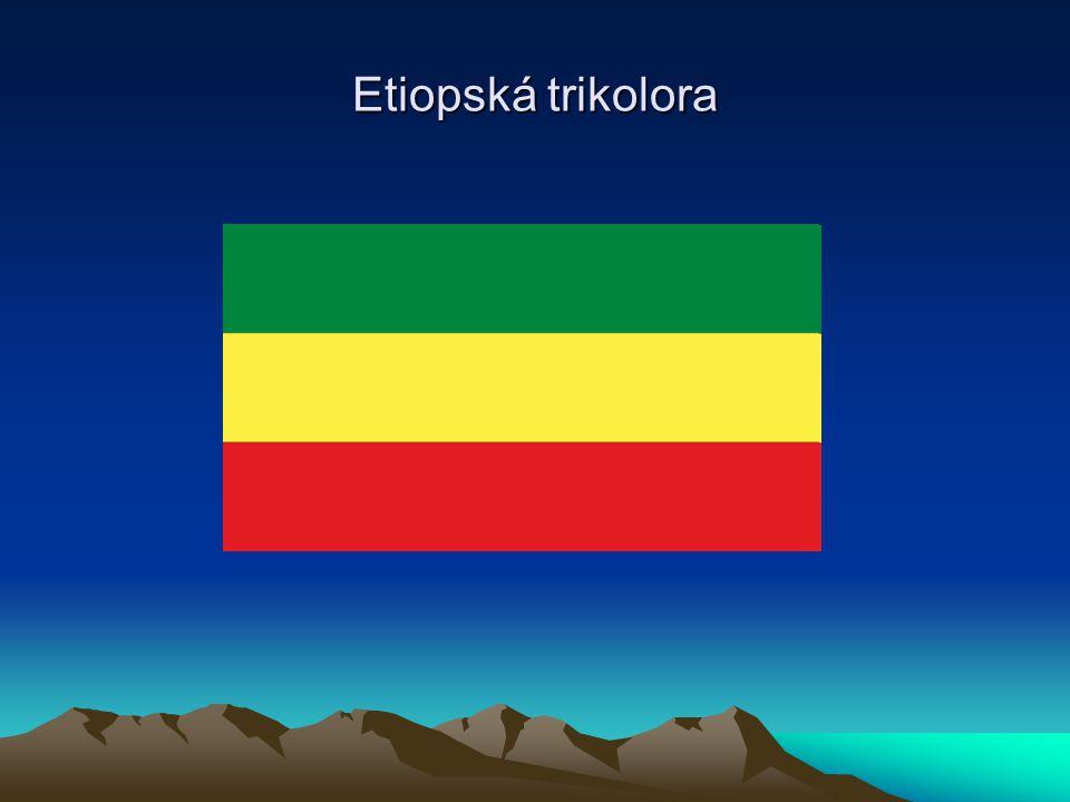 Etiopská trikolora