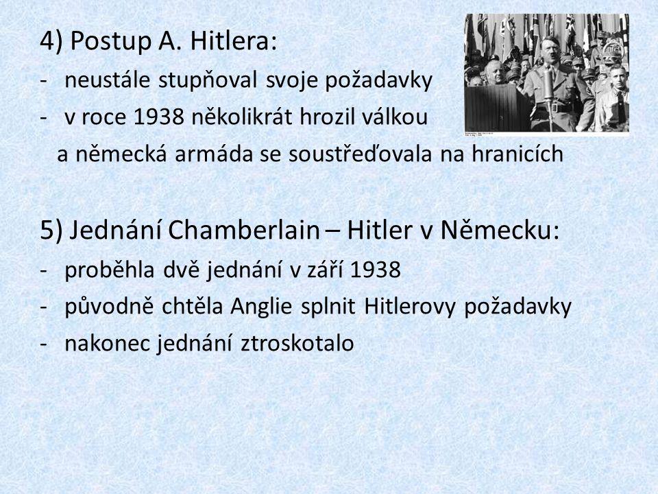 -jednalo se bez naší účasti -konference nařídila ČSR předat Německu Sudety, jinak by v případě konfliktu byla ČSR označena za agresora 12) Důsledky Mnichova pro ČSR: -ztráta území: -Němci získali Sudety, odešlo z nich 1,7 milionu Čechů -Poláci – Těšínsko -Maďaři – jižní Slovensko -ztráta obranyschopnosti -ztráta surovin a části průmyslu -přerušení dopravních cest