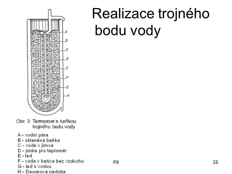 P925 Realizace trojného bodu vody