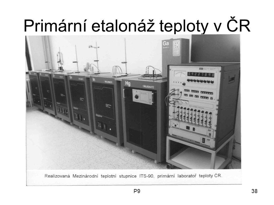 P938 Primární etalonáž teploty v ČR