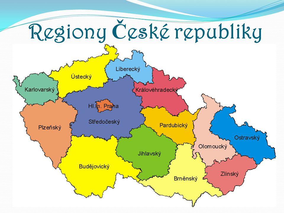 Regiony Č eské republiky