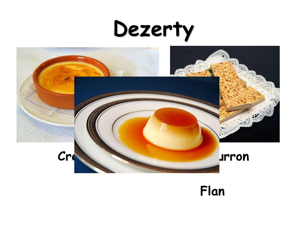 Dezerty Crema catalana Turron Flan